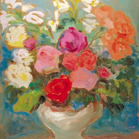 166- Rosas y azucenas I_med