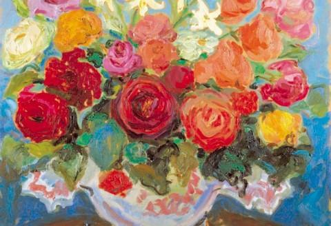 168- Rosas y azucenas II_med
